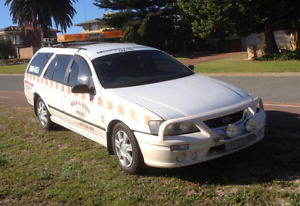 PILOT VEHICLE - 2004 FORD Falcon 6 Cylinder BA Duel Fuel S/W Kingsley Joondalup Area Preview