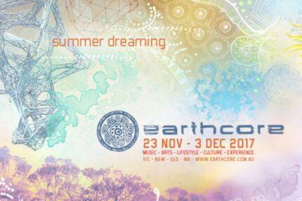2x WA Earthcore tickets