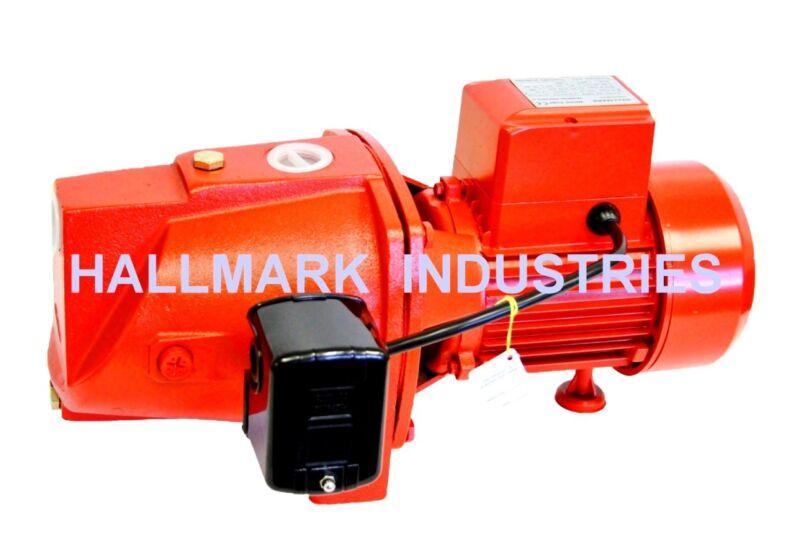 Shallow Well Jet Pump w/Pressure Switch 1HP 24 GPM, heavy duty, 115/230V