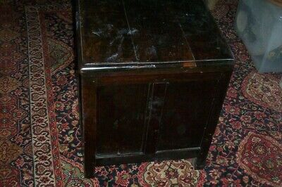 Antique 18th century Oak Coffer Trade Clearance For Restoration.