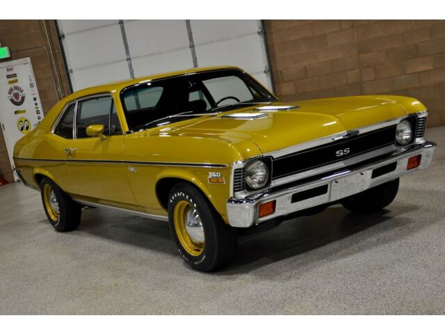 1972 chevrolet nova 39 ss 39 all 39 s matching concours for Mercedes benz dealer st george utah