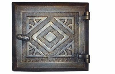 Cast Iron Fire Door Clay Bread Oven Pizza Stove Quality Old Cooper (I) 26,5 x 24