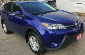 2015 Toyota RAV4 LE AWD 4 NEW TIRES & NEW BRAKES Clean Car Proof