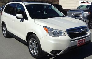 2015 Subaru Forester LIMITED ALL WHEEL DRIVE NAVIGATION Clean Ca
