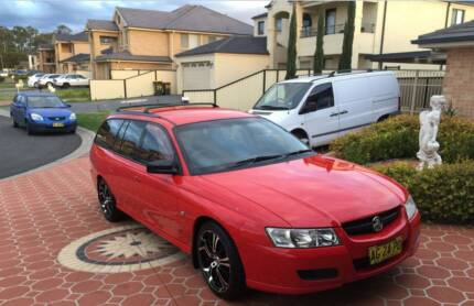 Holden Commodore VZ Executive Red Automatic 4sp Auto Wagon 2005 Plumpton Blacktown Area Preview