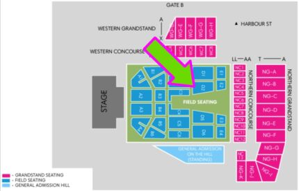2 x ELTON JOHN TICKETS – WOLLONGONG 24/9 AWESOME SEATS