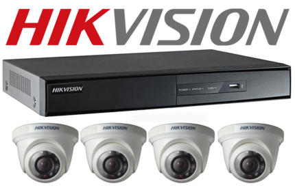 4 x Hikvison or Dahua Security Camera Fully installed Only $1199