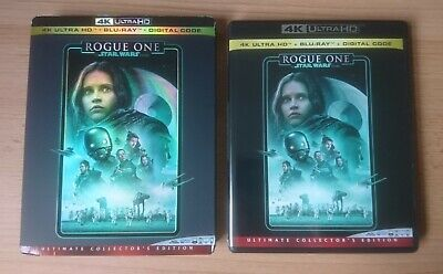 STAR WARS ROGUE ONE BLU RAY in 4K Case - NO 4K DISC INCLUDED - PLUS DIGITAL CODE