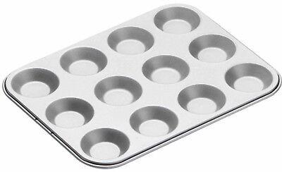 Kitchen Craft 12 Hole Non Stick Shallow Fairy Cake Tin Muffin Tray