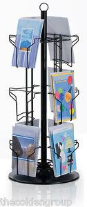 12-Pocket-5-x-7-Greeting-Card-Counter-Display-Rack-Black