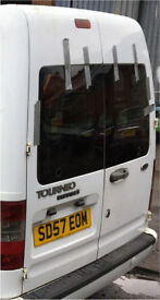 Ford transit connect rear doors with glass