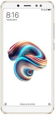 Xiaomi Redmi Note 5 Dual Sim 64GB+4GB RAM 5.99' NUOVO 4G LTE Android Gold Oro