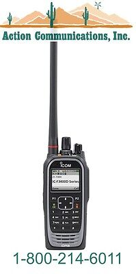 New Icom Ic-f3400dt-01 Vhf 136-174 Mhz 5 Watt 1024 Channel Two Way Radio