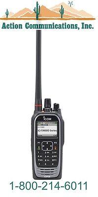 New Icom Ic-f3400dt-01 Vhf 136-174 Mhz 5 Watt 1024 Channel Two Way Radio