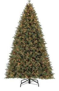 BNIB: 9-ft Pre-lit Hayden Pine xmas Tree with 1450  White Lights