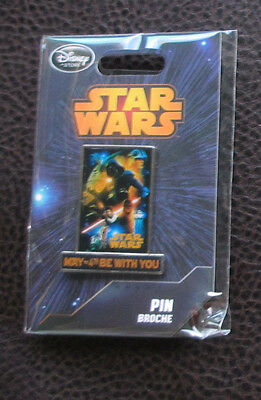 Star Wars New Hope Pin  May The 4Th Be With You  Disney Store Le   Rare