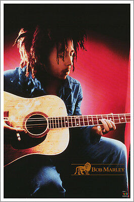 24 x 36 BOB MARLEY POSTER - SONGS OF FREEDOM - FREE SHIPPING