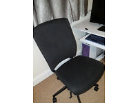 Office/computer chair w/ height/seat/back adjusters, £15 Upton collection only