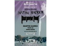 2 x Priority Entry Justin Bieber Hyde Park