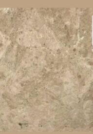 Cappucino polished marble real stone
