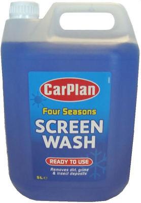 Carplan READY MIXED All Seasons 5 L Windscreen Window Screen Wash 5 Litre