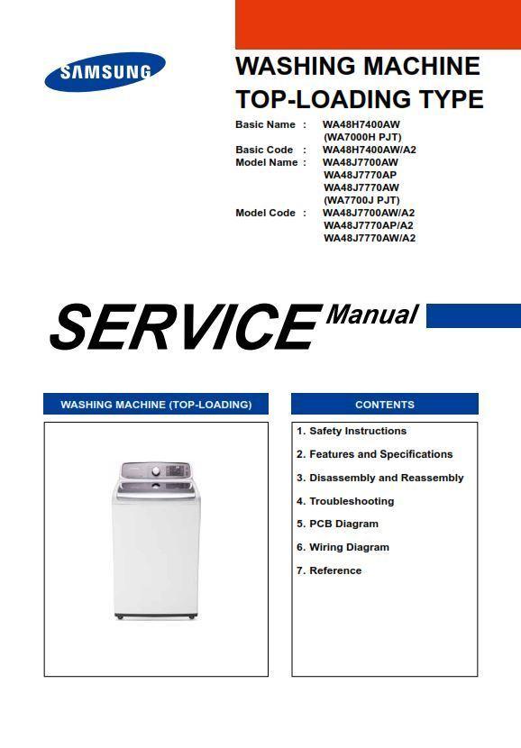 Washing Machine Repairs Manual Guide