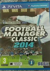 PS Vita Football Manager 2014