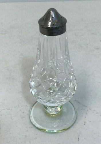 Vintage Glass Crystal Salt Shaker