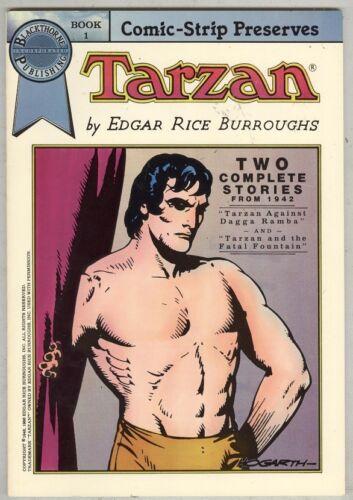 Tarzan #1 FN 1986 Black and White 1942 Strip Reprints