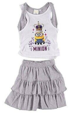 IONS Rock + Shirt Bluse Baumwolle 2tlg Outfit Gr 110 NEU OVP (Mädchen Minion Outfit)