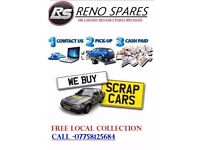 Scerap Car Buyers We Pay The Best Prices Local Collection