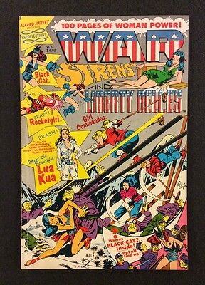 WAR SIRENS & LIBERTY BELLES #1 Comic Golden Age Reprint Joe Kubert Black Cat