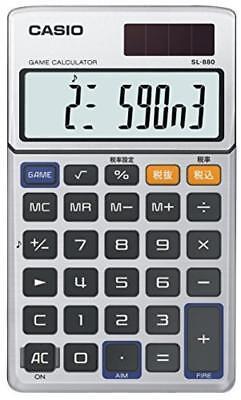 Casio Calculator Game Calculator Notebook Type 10 Digits SL-880-N Japan