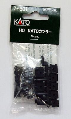 Kato HO 7-601 Coupler Black (5 Pair.) (HO Scale)