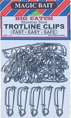 Bait Clips For Crab Traps Or Trotline Stainless Steel 30 Pack