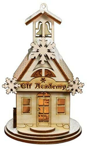 Ginger Cottage Elf Academy Schoolhouse 80019