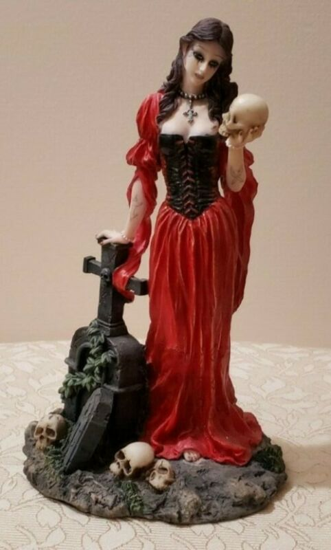 Pacific Gift Vampire figurine Ecellent Used Condition