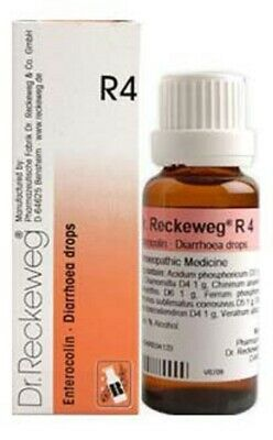Dr. Reckeweg Germany R4 for Diarrhoea Drops best Homeopathic Medicine (Best Medicine For Diarrhoea)