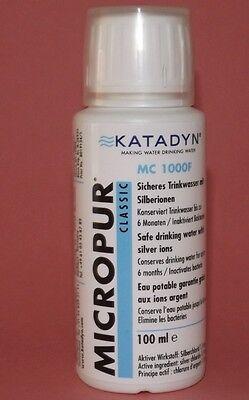 Micropur Classic Flüssig MC1000F Wasserentkeimer Wasserkonservierung 100ml