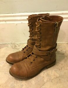 Lovely Brown Boots - Size 7