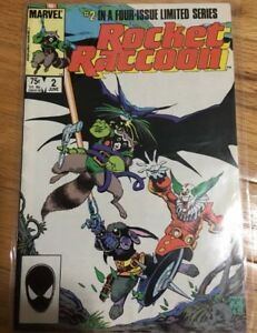 Rocket Raccoon Vol 1 No 2 Jun 1985 Marvel, Part 2 of 4 Series