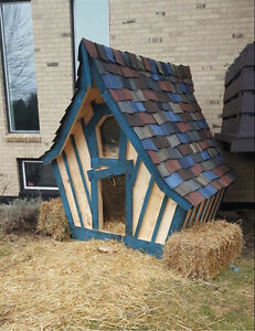 Crooked Playhouses, doghouses & Sheds!
