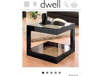 Two Dwell Modular Tables in Dark Oak