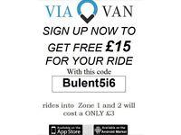 Free £15 ride London
