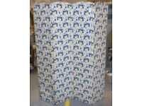 Fabric Four Panel Room Divider Or Vanity Screen - Devider