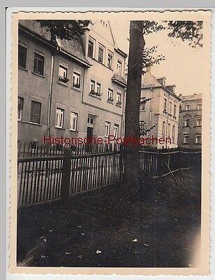 (F4874) Orig. Foto Plauen, Häuser am Schloss