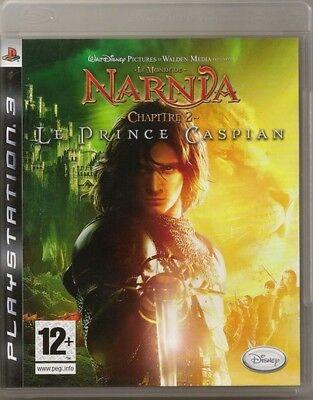 WALT DISNEY LE MONDE DE NARNIA CHAPITRE 2 LE PRINCE CASPIAN  PLAYSTATION 3 PS 3