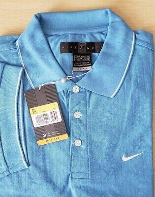 Mens Nike Golf Dri-Fit Polo Shirt  Small Blue