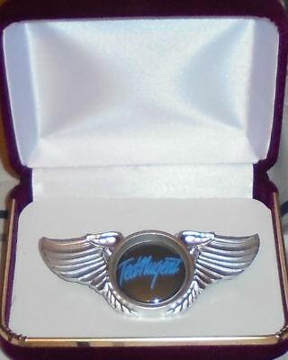Ted Nugent White Album Hard Rock Band Wing Live Concert Jacket Badge Pin NRA GOP