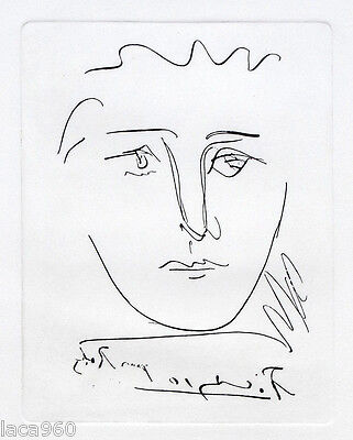 Pablo PICASSO Pour Roby Plate Signed Etching + COA, used for sale  Beverly Hills